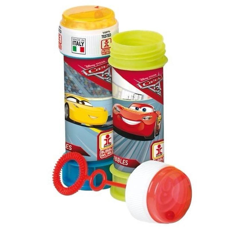 1x Bellenblaas Cars 60 ml speelgoed voor kinderen