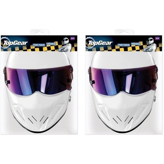 2x Top Gear Stig maskers