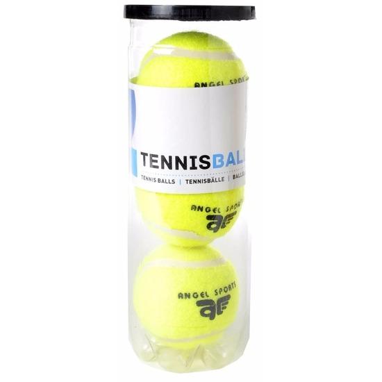 3x Tennisballen in koker