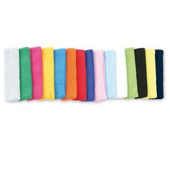 Hoofd zweetbandjes in alle kleuren