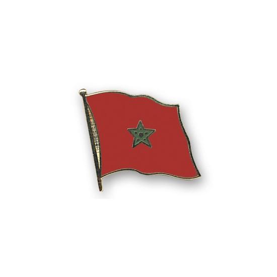 Pin Vlag Marokko