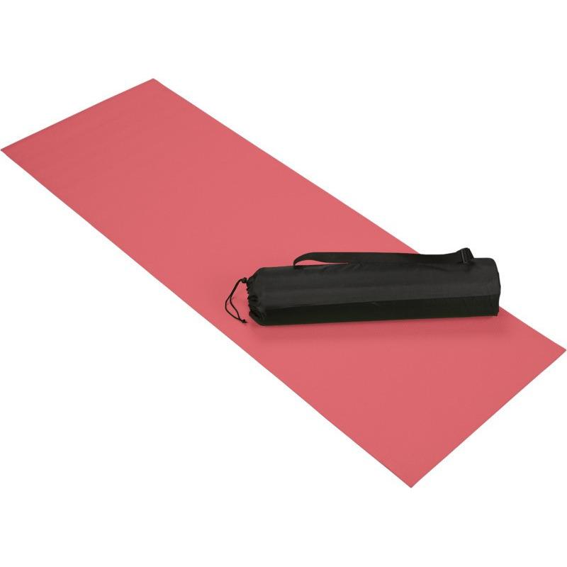 Rode yoga/fitness mat 60 x 170 cm