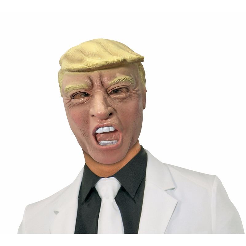 Rubber masker president Trump
