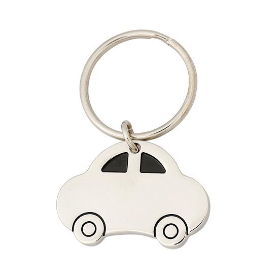 Sleutelhanger met auto van 4,5 cm Cadeau /jubileum–geslaagd/rijbewijs