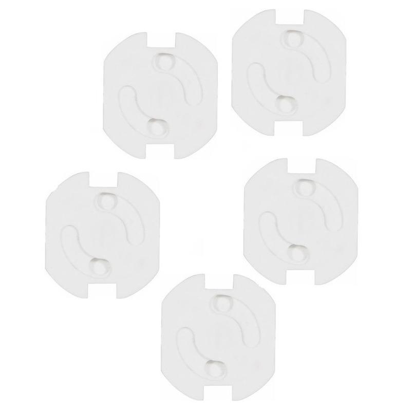 Stopcontactbeveiliging wit 5 stuks