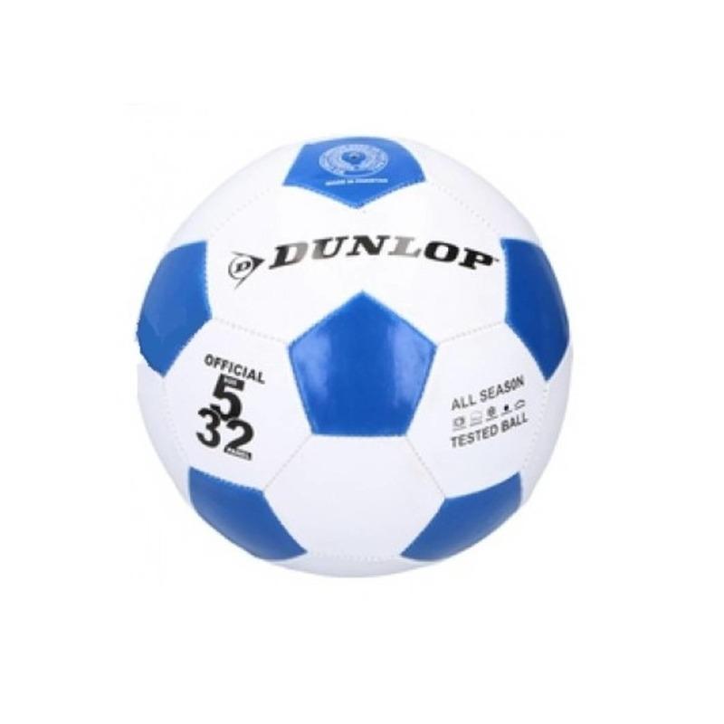Voetbal blauw - wit voor kinderen maat 5